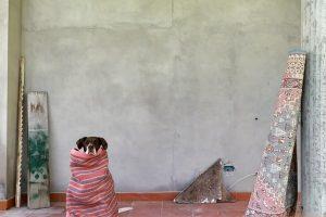 SOFIA RICCIARDI: SENZA TITOLO (CON CANE)